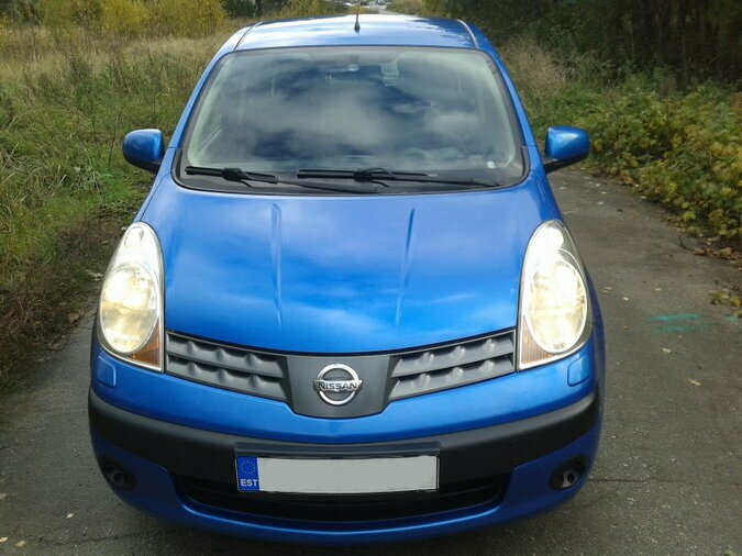 NISSAN NOTE 1.4 65 kW -07