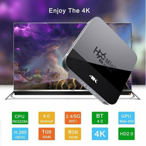 TV BOX ANDROID 9.0 WIFI