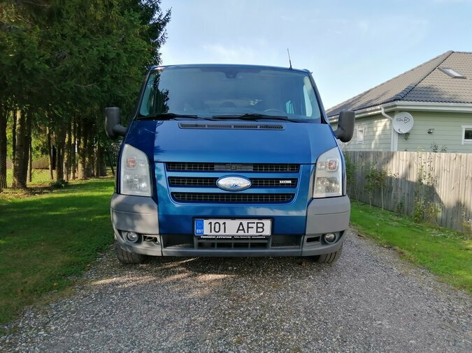 FORD TRANSIT 260S NEW-LINE COOL EDITION 2.2 TDCI 81 kW