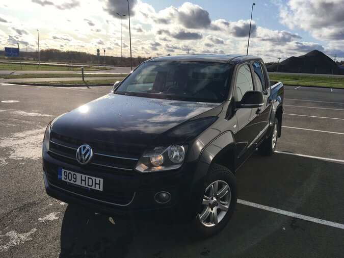 VW AMAROK 4MOTION TDI 120 kW