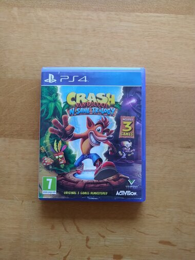 MÜÜA PLAYSTATION 4 MÄNG CRASH BANDICOOT N SANE TRILOGY