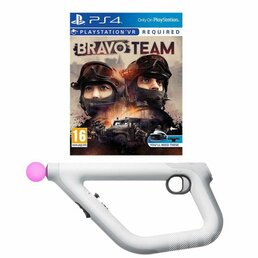 SONY PLAYSTATION BRAVO TEAM VR + AIM CONTROLLER SONY PS4 VR